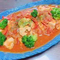 バスク風鶏肉のトマト煮