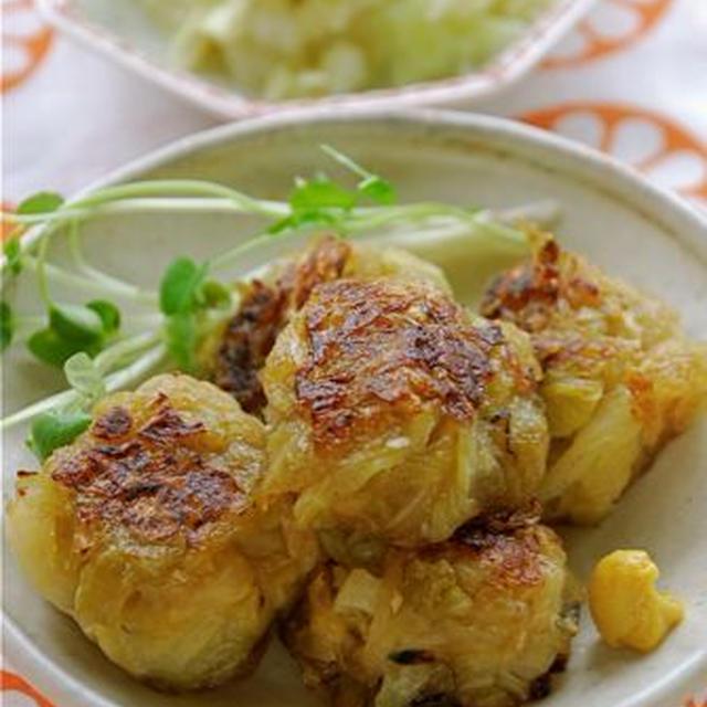 生姜風味のキャベツ団子
