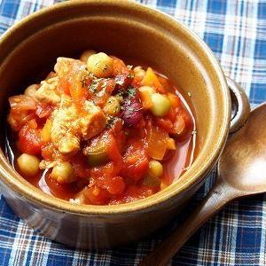 トマト缶と大豆の水煮があれば楽ちん!栄養満点スープレシピ