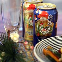酉年に、ビールを楽しむお年玉