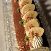 バナナのロールケーキ^^