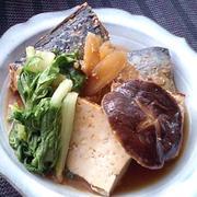 野菜といっしょ煮ピリっとサバ味噌