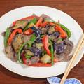 簡単10分!牛肉と夏野菜のニンニク味噌炒め