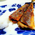 """焼き魚の定番 脂ののった美味しい """" さんまの塩焼き """""""