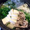 体が温まる♪豚肉の塩こうじ生姜鍋
