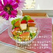 低糖質レシピ 林檎とキャベツのサラダ