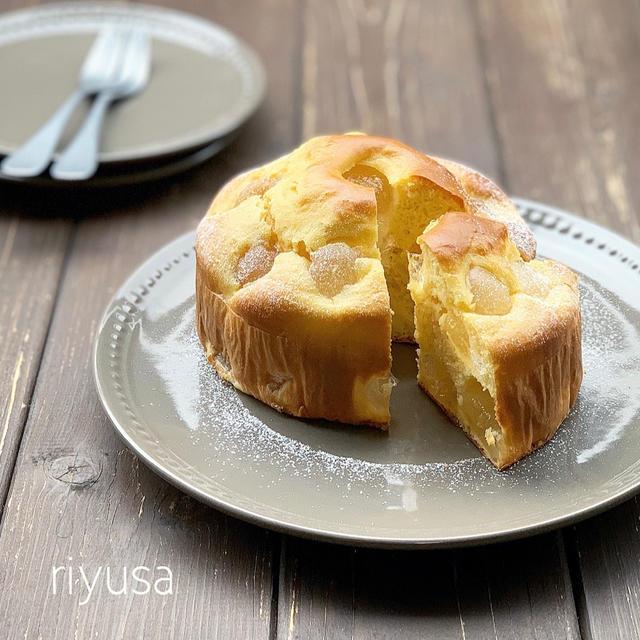 【不思議食感おやつ】丸ごとわらび餅ケーキ
