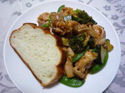 411 : イタリア〜ンな野菜炒め