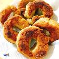 こどもと一緒に☆薩摩芋と全粒粉のこねこねドーナツ by Misuzuさん