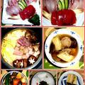 トロカジキと自家製鶏団子の寄せ鍋
