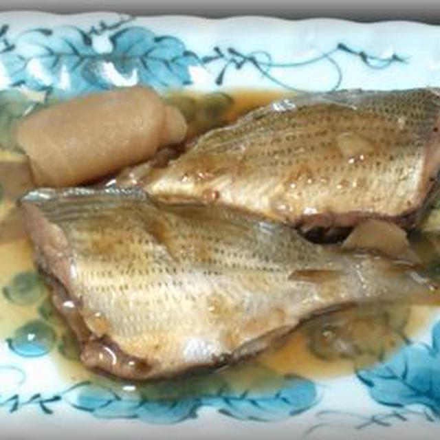 チヌ(黒鯛)ワイン煮