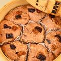 2月15日 月曜日 チョコとナッツの蒸しパン