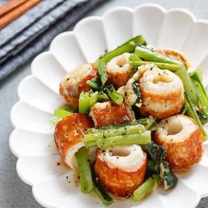 お弁当にも使いやすい♪「小松菜×ちくわ」のおすすめおかず