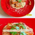 食材1つ☆長芋すてーきアンチョビ風味とトロトロロソースちゃん♪