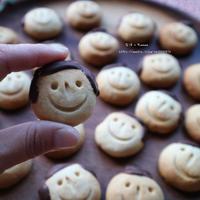 米油deハニージンジャークッキー☆チョコがけで男の子&女の子デコ