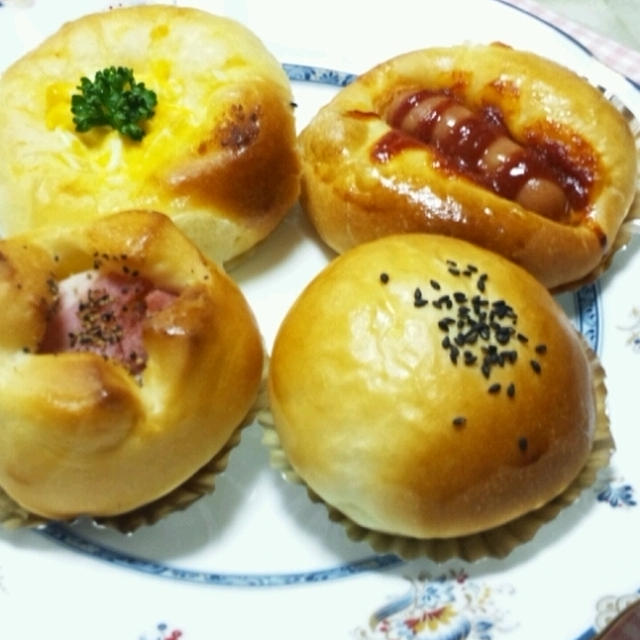 今年、初めて焼いたパン