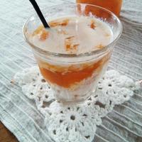 トロ~リ。飲むヨーグルト的・杏ミルク