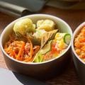 レンジで簡単 にんじんツナのホットマスタードサラダ