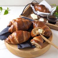 糖質オフの もっちりふすま入りロールパン