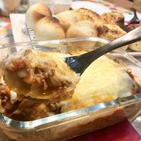 【バター不使用】餃子の皮で簡単♪スとろ~りラザニアが幸せの味♡