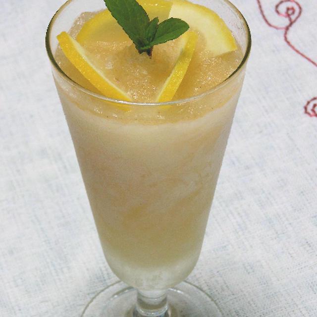 五月晴れにサクレ レモンで大人のスパイシーシャーベット。