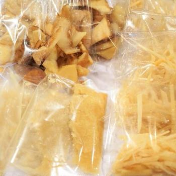 ■冷凍保存食作り【薬味や出汁に欠かせない根生姜】