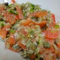 スモークサーモンの野菜マリネNoel風