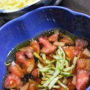 7月11日  トマトつけ麺