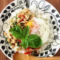 鶏胸肉で作る簡単ヘルシーガパオのレシピ
