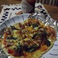 ガスコンロで米粉ピザ by ミコおばちゃんさん