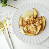 ローズマリーチキン&ポテトのオーブン焼き