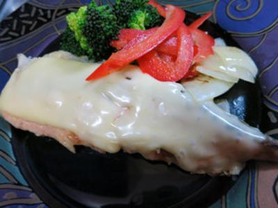 生鮭のチーズ焼き