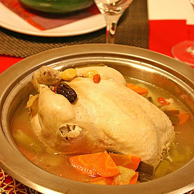 日経ウーマンオンラインに掲載☆丸鶏で本格参鶏湯(サムゲタン)