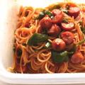 レンジでゆでるパスタのレシピ。子どもが喜ぶ超簡単ナポリタン