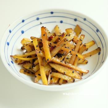 さつま芋のきんぴら  レシピ