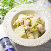スパイス香る鶏肉と白菜のクリーム煮