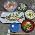 鮎の塩焼きで~七夕御膳♪&鮎の登り串の打ち方 by ei-recipeさん