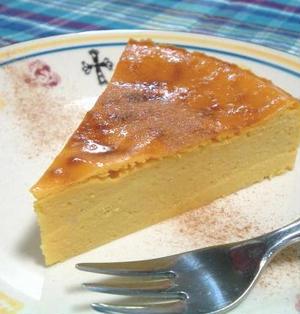 酒粕で☆かぼちゃのチーズケーキ