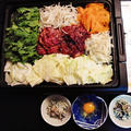 野菜もたっぷり摂れるエスニック☆韓国すき焼き♪~♪