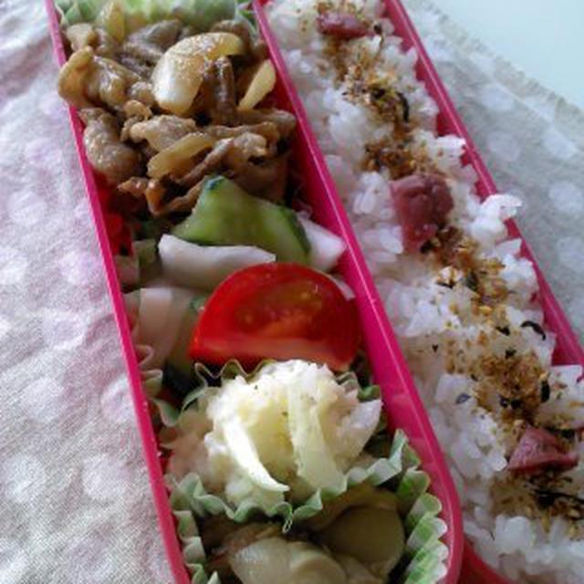 レシピ焼き肉弁当