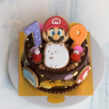 キャラものお誕生日ケーキ