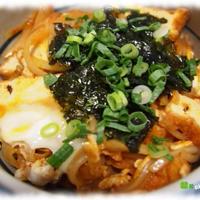 モニターレポート~おうちで楽しもう韓国食材 ☆スンドゥプチゲの素で作る厚揚げキムチ丼