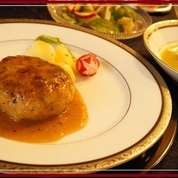 豚肉と切干大根のハンバーグ【レシピ】