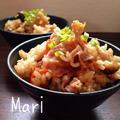 うまうま〜♡焼肉のタレで♡炊き込みご飯 by Mariさん
