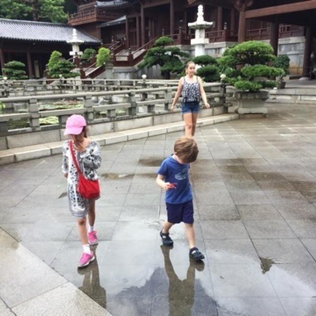 ボストンからの友人家族との香港観光
