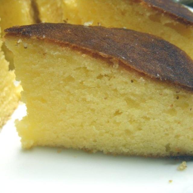 レモンケーキ作り