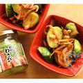 * ハウス本きざみ粗切りわさび「芽キャベツ&桜エビのわさび醤油炒め」 *