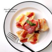 レンジで1分20秒のお気に入り朝ごはん*超簡単!フレンチトースト