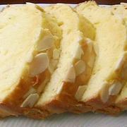 スライスアーモンド入りパウンドケーキ☆☆ヘルシーなお菓子作り