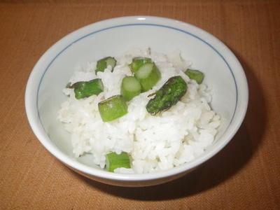 アスパラご飯・料理レシピ